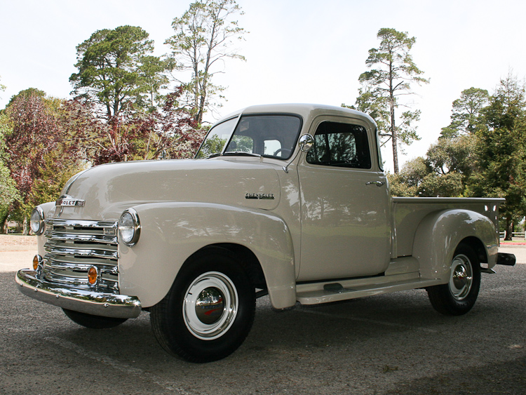 1952 chevy pick up cool view for Chevy home motors santa maria