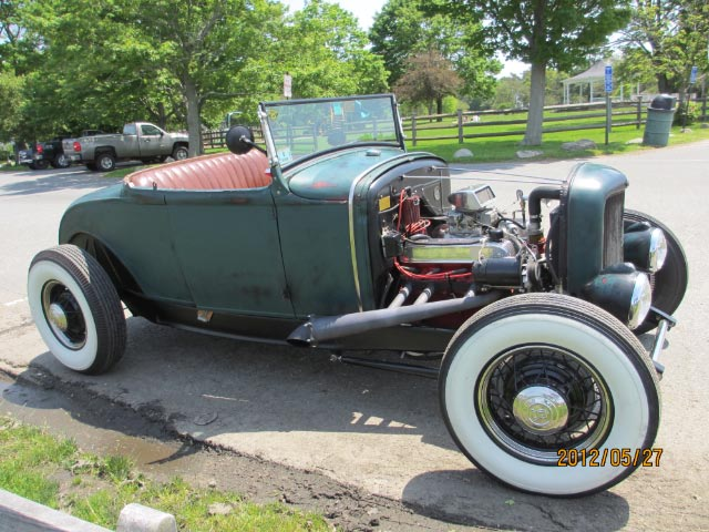1930 Ford Model A Roadster Cool View