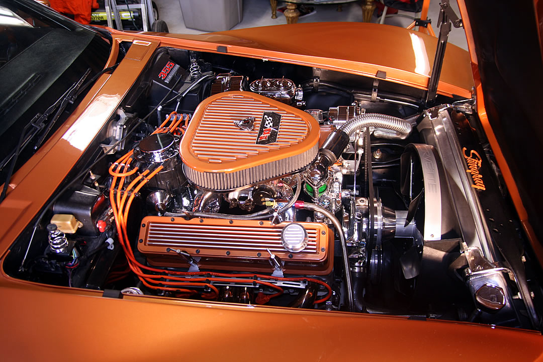 Engwire moreover Chevrolet Nova Engine Bay likewise Offer Superbeetleengine together with F C D A A D D A A C together with Kickdown. on 1974 corvette engine compartment